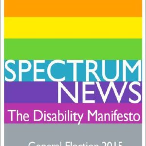 Disability Manifesto cover