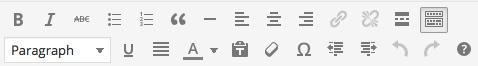 Editing tips editing options