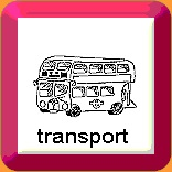 Cartoon image of a double decker bus