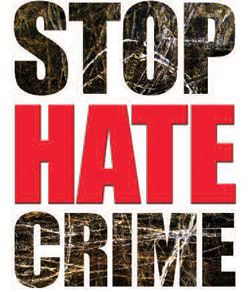 Stop Hate Crime logo