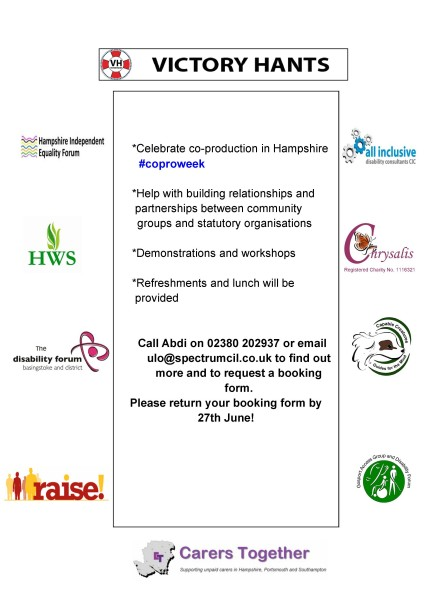 Organisations Network Launch event poster page 2