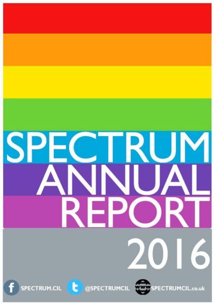 SPECTRUM Annual Report 2016