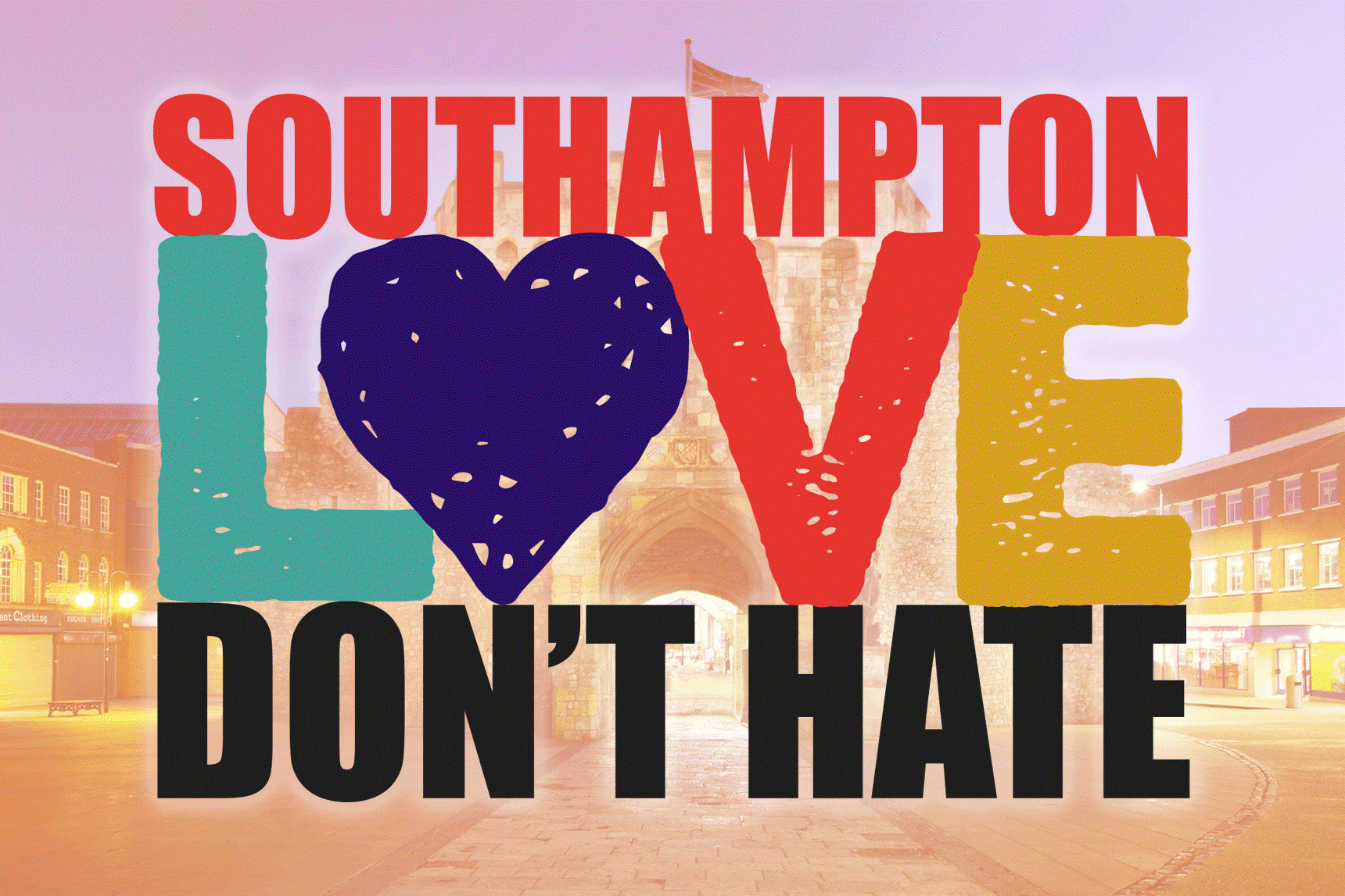 Southampton Love Don't Hate logo 3