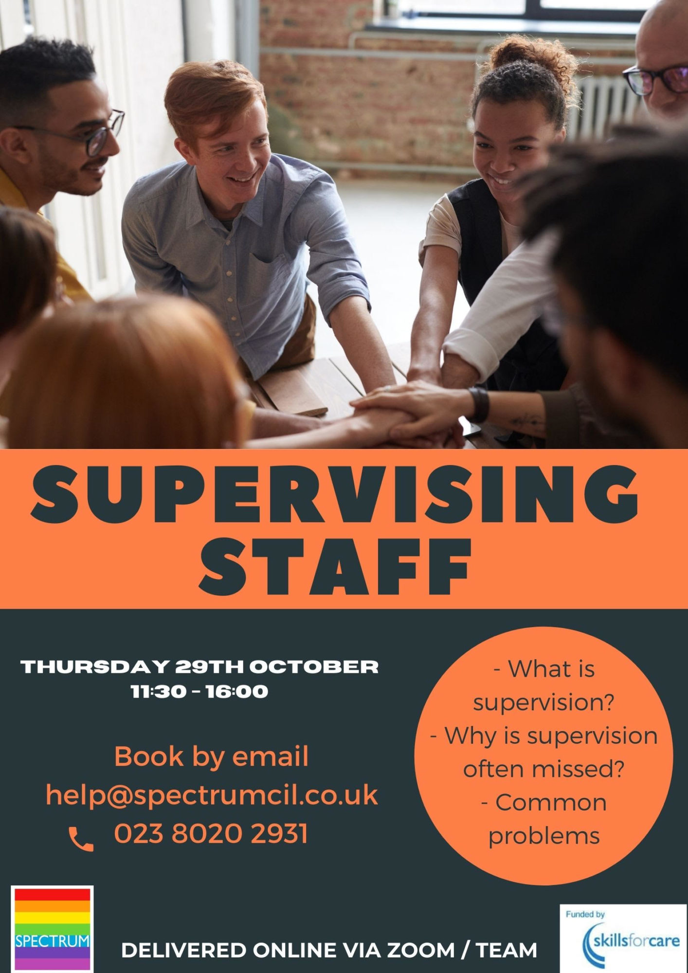Supervising Staff poster